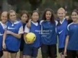 Moroccan Female Teen Soccer Players: Soccer Playing And Life Skills