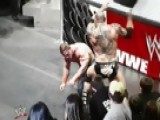 WWE Monday Night Raw - The Road To WrestleMania: John Cena Vs. Batista – Qualification Match