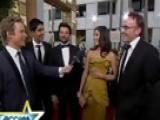 Access Hollywood - 'Slumdog' Cast All Revved Up At The 2009 Golden Globes