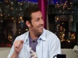 Letterman - Adam Sandler: A Regular 'Funny' Guy? - Season 16 - Episode 3161