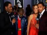 52nd Grammy Awards - Jason Derulo, IYAZ, Kara Dioguardi Interview - Season 52
