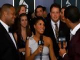 52nd Grammy Awards - Vince Hubert And Toni Braxton Interview - Season 52