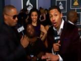 52nd Grammy Awards - Jamie Foxx, Diondra Dixon Interview - Season 52