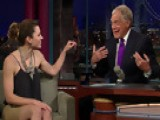Letterman - Jessica Biel's Kiss-Me-Cam And Crumpets - Season 16 - Episode 3125