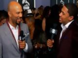 52nd Grammy Awards - Common Interview - Season 52