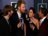 52nd Grammy Awards - Lady Antebellum Interview - Season 52