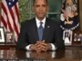 Obama Addresses Nation On Oil Spill