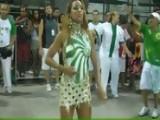 Sexy & Body Painted Alessandra Mattos Rio Carnival 2011