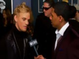 52nd Grammy Awards - Aaron Carter Interview - Season 52