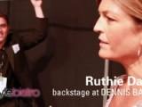 Ruthie Davis - Backstage At Dennis Basso - NYFW Spring 2011