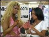 Pamela Peaks Speaks To Kaylani Lei At ADULTCON 2004
