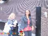 Alesha Dixon Talks Obama Outside GMTV