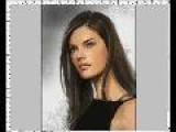 Alessandra Ambrosio: Drawing & Painting Woman Face Portrait Fast Demo