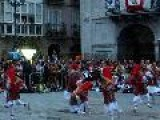 Basque Dancing In Mondragon Arrasate