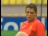 Cristiano Ronaldo Struck