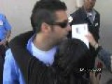 EXCLUSIVE VIDEO: Adam Sandler Signing Autographs At Hollywood