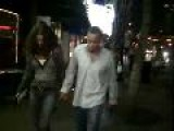 Halle Berry And Michal Ealy Leaving The Movie