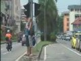 Part 3 Of Taxi Ride To Downtown KK On April 12,2009 As Videocam&#39 D By Gio Of BORNEOISLAND.com